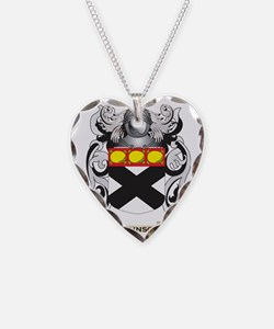 Johnson-(england) Coat of Arm Necklace