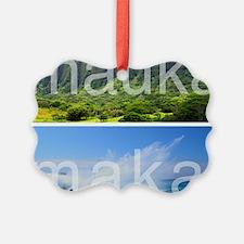 Mauka Makai Hawaii Print Ornament