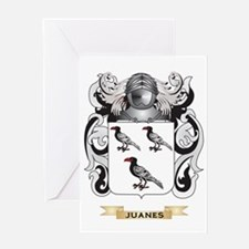 Juanes Coat of Arms (Family Crest) Greeting Card