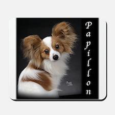 Papillon Puppy Mousepad