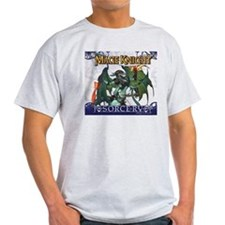 Mage Knight Sorcery Pathis Arcana Ash Grey T-Shirt