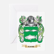 Kane Coat of Arms (Family Crest) Greeting Card