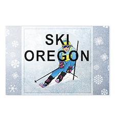 skioregon1 Postcards (Package of 8)