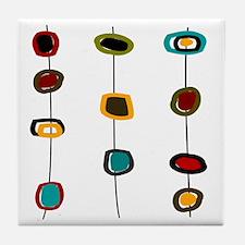 MCM Art 99 Shower curtain Tile Coaster