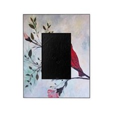 Sweet Red Cardinal Picture Frame