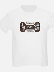Traveling Dog Trainer Logo T-Shirt