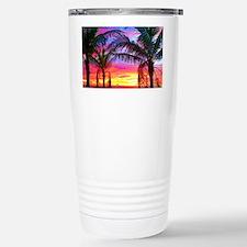 Captiva Island Sunset P Stainless Steel Travel Mug