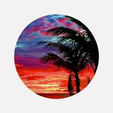 """Deep Purple Captiva Sunset Sky 3.5"""" Button"""