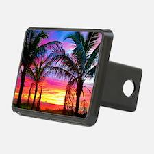 Captiva Island Sunset Palm Hitch Cover