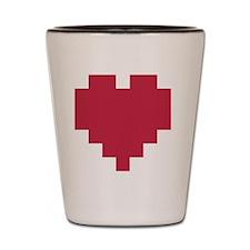Heart Logo Shot Glass