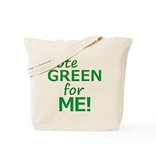 Vote Green 4 Me Tote Bag