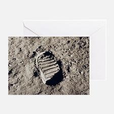Apollo 11 Bootprint Christmas Cards (Pkg 10)