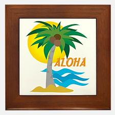 Aloha Framed Tile