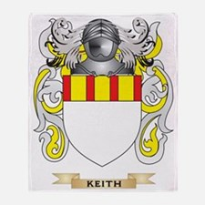 Keith Coat of Arms (Family Crest) Throw Blanket