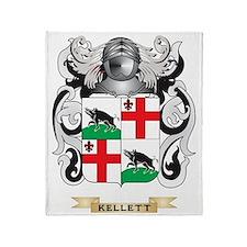 Kellett Coat of Arms (Family Crest) Throw Blanket