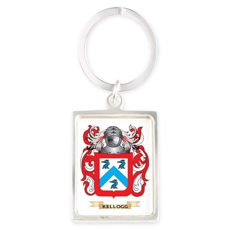 Kellogg Coat of Arms (Family Cre Portrait Keychain