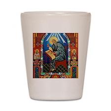 St. Bede Shot Glass