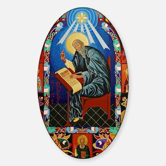 St. Bede Sticker (Oval)