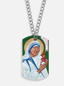 St. Teresa of Calcutta Dog Tags