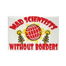 Mad Scientists Without Borders Rectangle Magnet