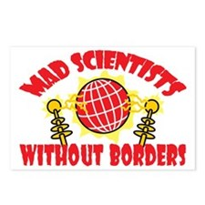Mad Scientists Without Bo Postcards (Package of 8)