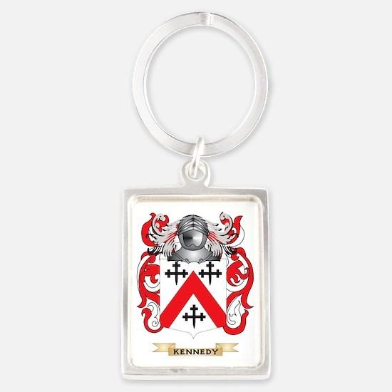 Kennedy-(Scottish) Coat of Arms  Portrait Keychain