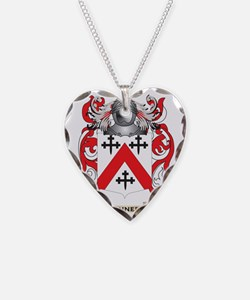 Kennedy-(Scottish) Coat of Ar Necklace Heart Charm