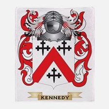 Kennedy-(Scottish) Coat of Arms (Fam Throw Blanket