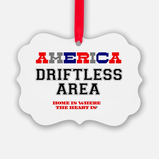 AMERICA REGIONS - DRIFTLESS AREA Ornament