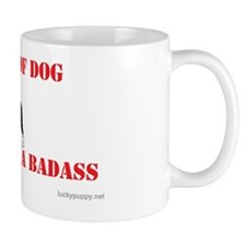 Beware of Dog Small Mugs