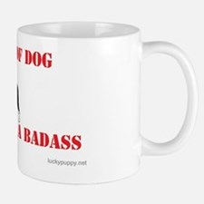 Beware of Dog Small Mugs