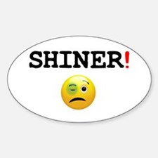 SHINER - BLACK EYE! Z Sticker (Oval)
