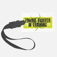 Zombie Fighter In Training Luggage Tag