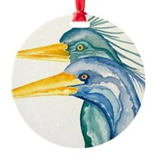 Heron Lover Ornament