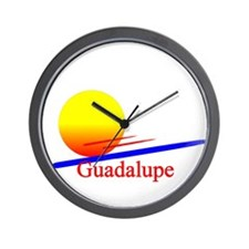 Guadalupe Wall Clock