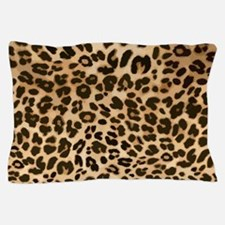 Leopard Gold/Black Print Pillow Case