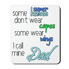 Superhero Dad Mousepad