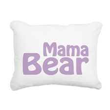 Mama Bear New Baby 2014 Rectangular Canvas Pillow
