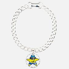 Tommy Blue Flag  Bracelet