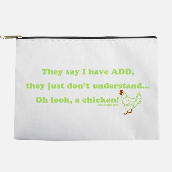ADD Chicken Humor Makeup Pouch