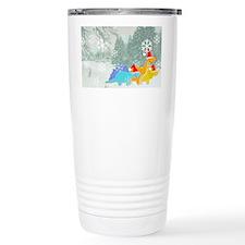 Snow Dinosaurs Travel Mug