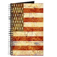 Vintage American Flag Graphic Journal