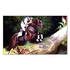 Trakehner Eventing Horse Decal