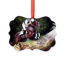 Trakehner Eventing Horse Ornament
