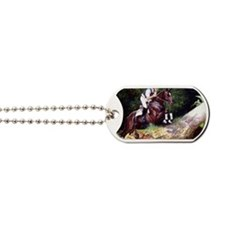 Trakehner Eventing Horse Dog Tags