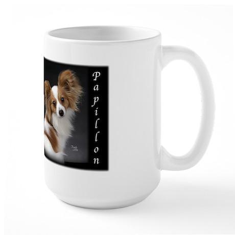 Papillon Puppy Large Mug