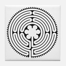 Chartres Essence Labyrinth Tile Coaster