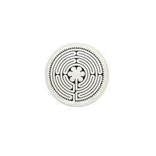 Chartres Essence Labyrinth Mini Button