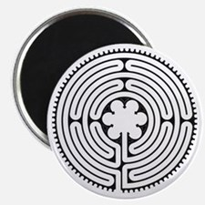 Chartres Essence Labyrinth Magnet