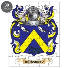 Kingsbury Coat of Arms (Family Crest) Puzzle